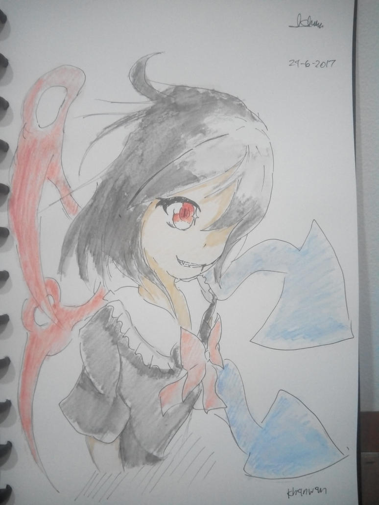 UFO/ Nue~n  day~ (traditional) (rushed) by Kh3mm4