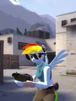Sunglasses for Rainbow Dash by Kassgrein