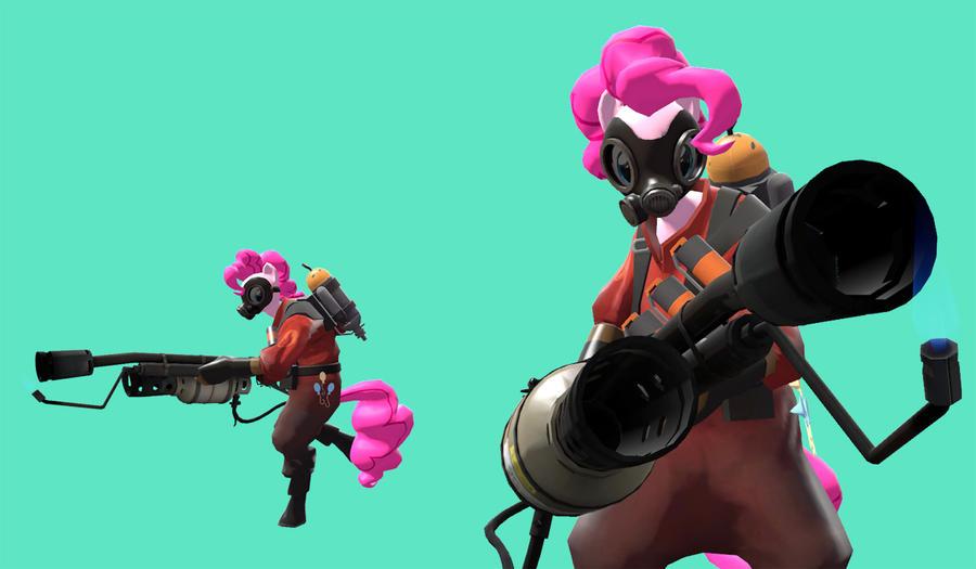 Pinkie Pie pyro WIP 2