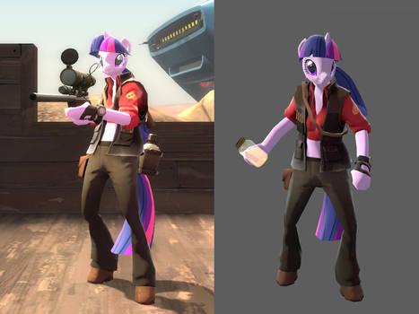 Twilight Sparkle Sniper Mod for download