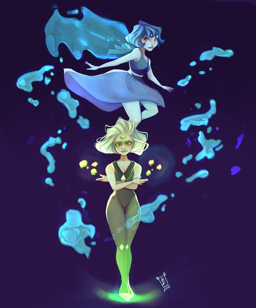 """Characters from """"Steven Universe"""" Hope you like it ^^ INSTAGRAM------> rachel12_art"""