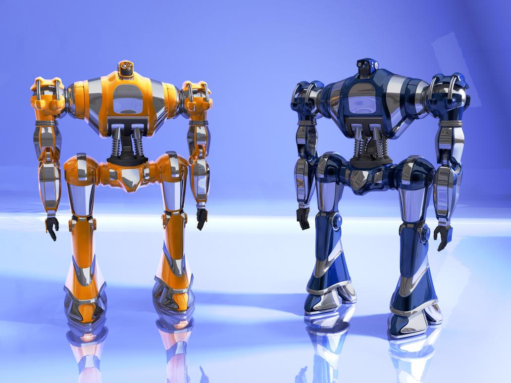 grawbots supersize by Buchio