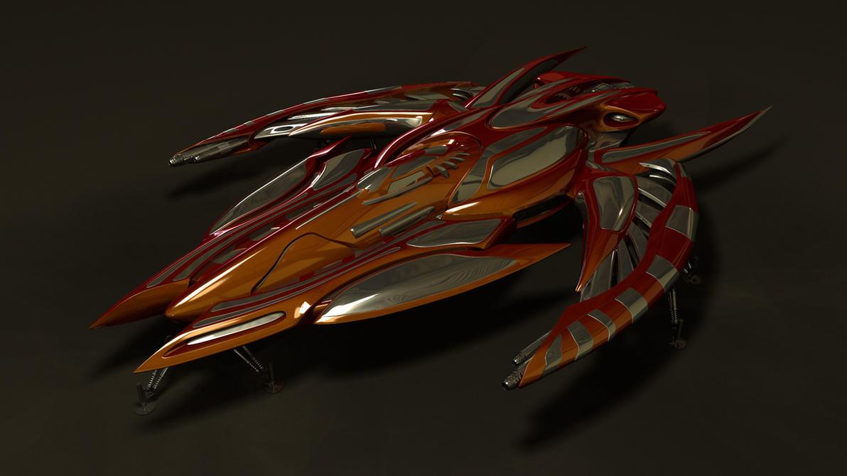 scyther v2.0 re-render by Buchio