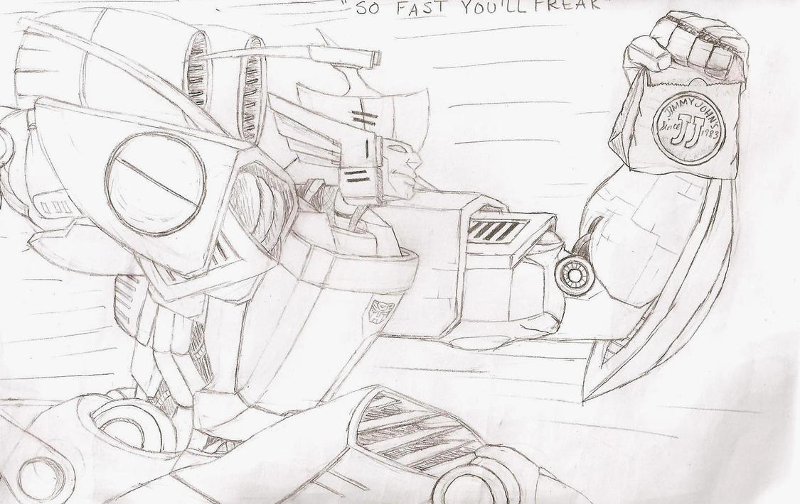 So Fast You'll Freak Lineart by skydive1588