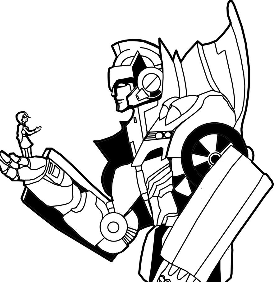Emma and Rodimus WIP by skydive1588