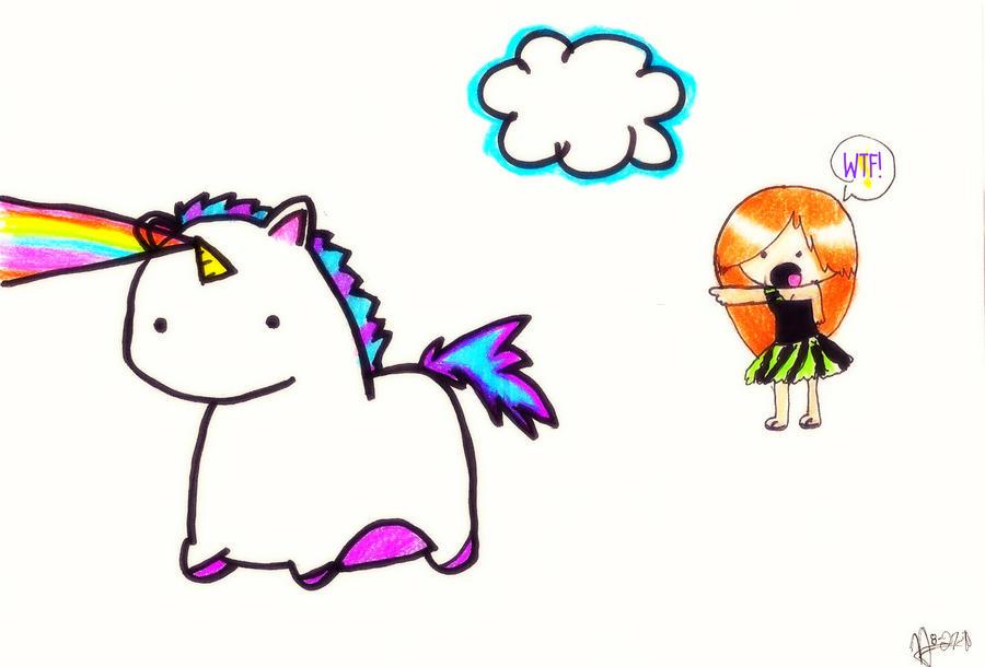 cartoon unicorns and rainbows  Unicorns And Rainbows Tumblr