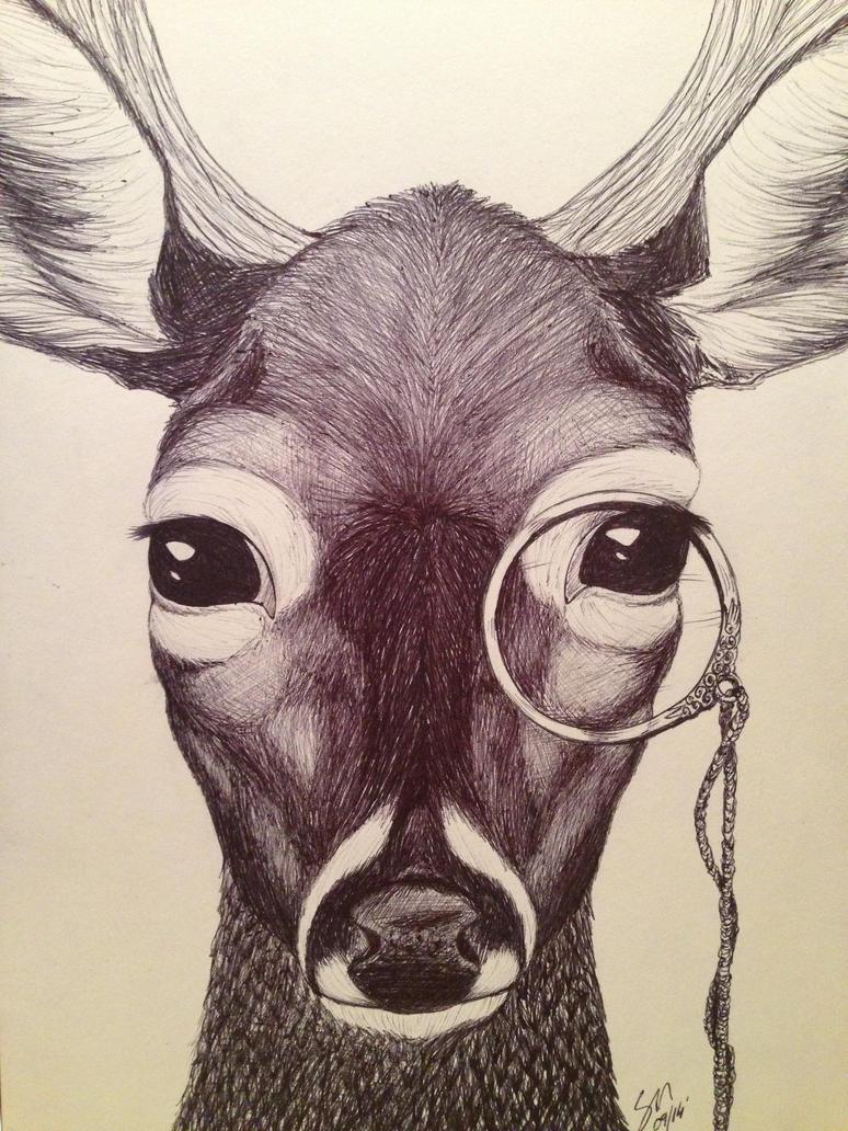 Monocle Deer by McIcereamers