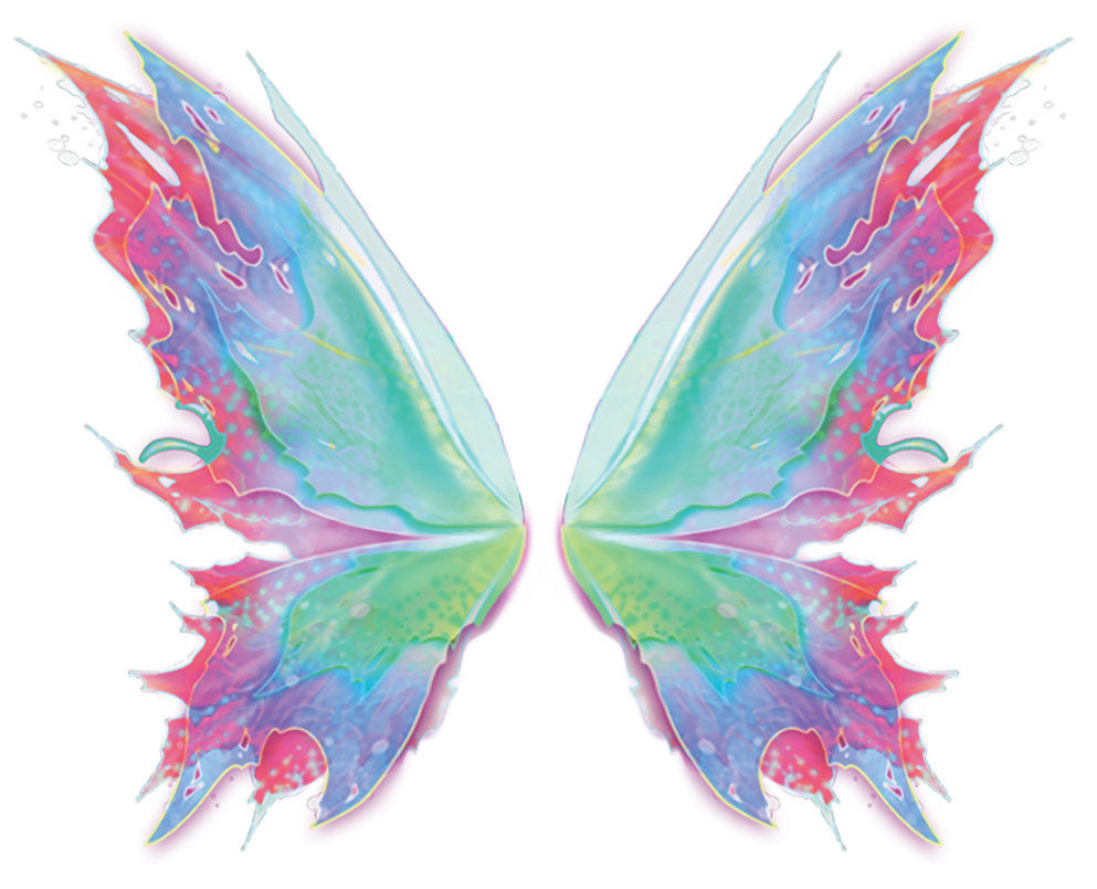 Winx - bloom's official mythix wings ( cut-out ) by KeroCreations
