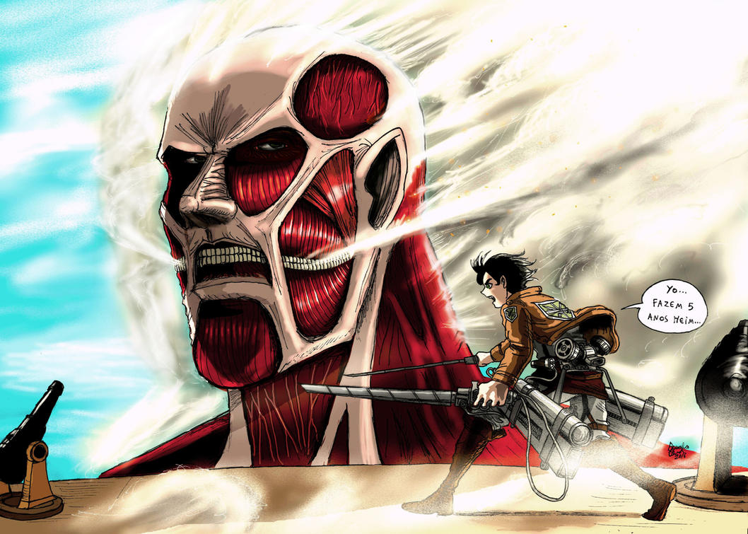 Colossal Titan color By Doug by Darkdouglas