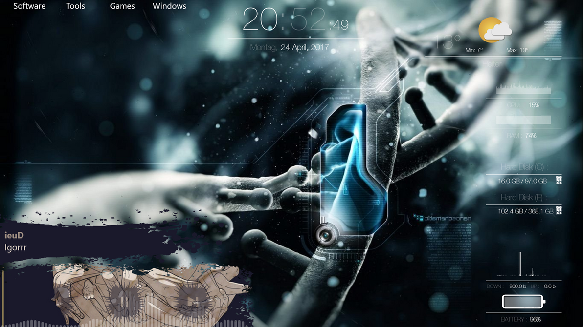 Desktop 2 by AndiMajore