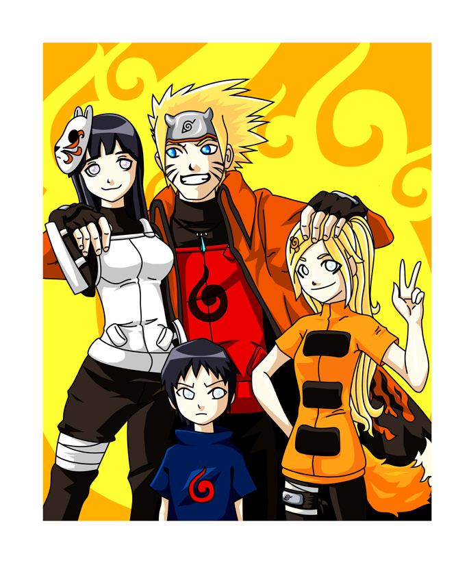 Uzumaki Family Photo by Warbee