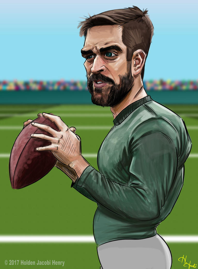 Aaron Rodgers by HJacobi