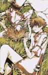 Sakura and Syaoran Mosaic