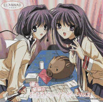 Clannad Twin Sister CD Cover by smallrinilady