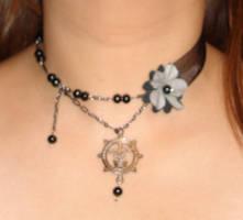 Dark Asymmetrical Gothic Chok1 by smallrinilady