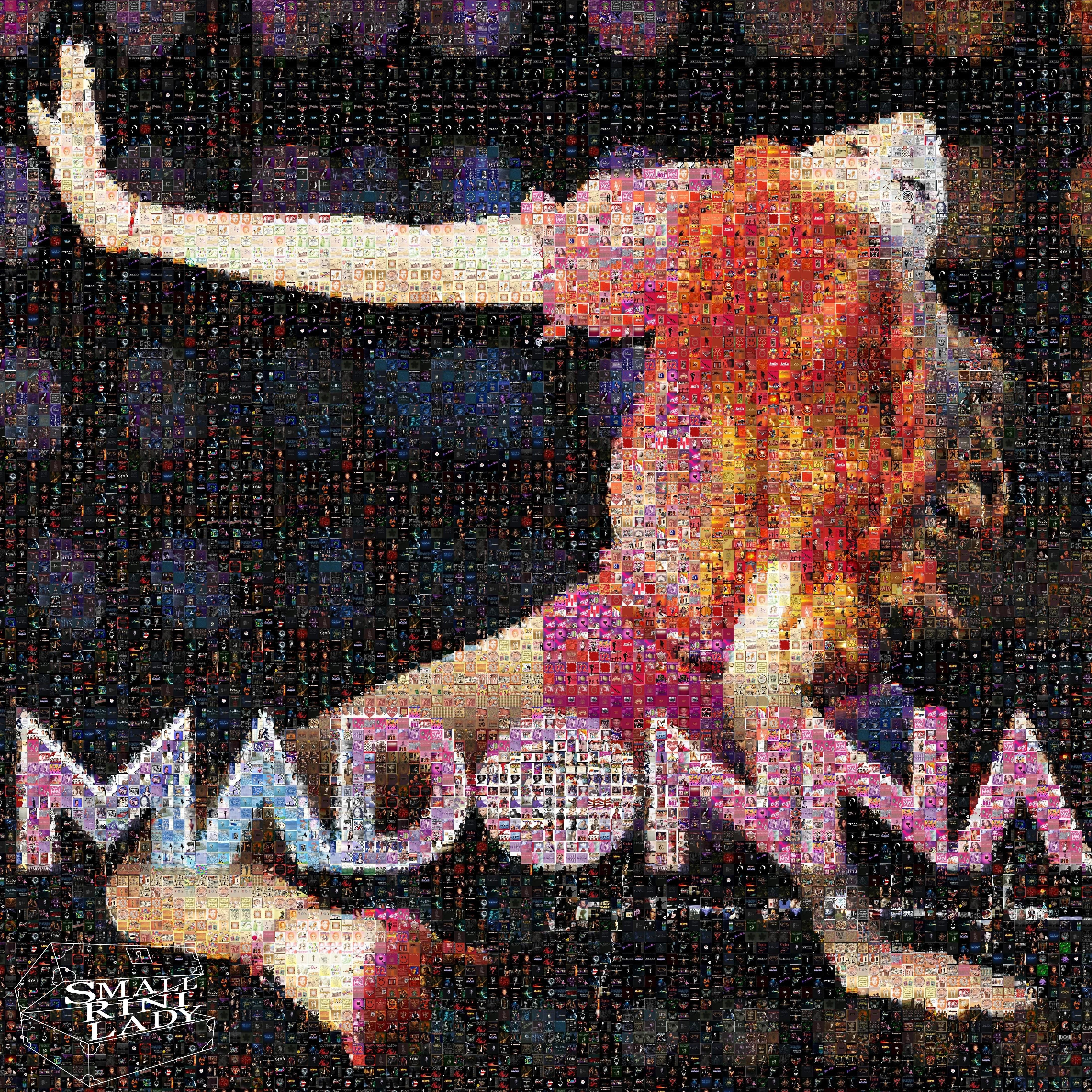 Madonna CD Mosaic by smallrinilady