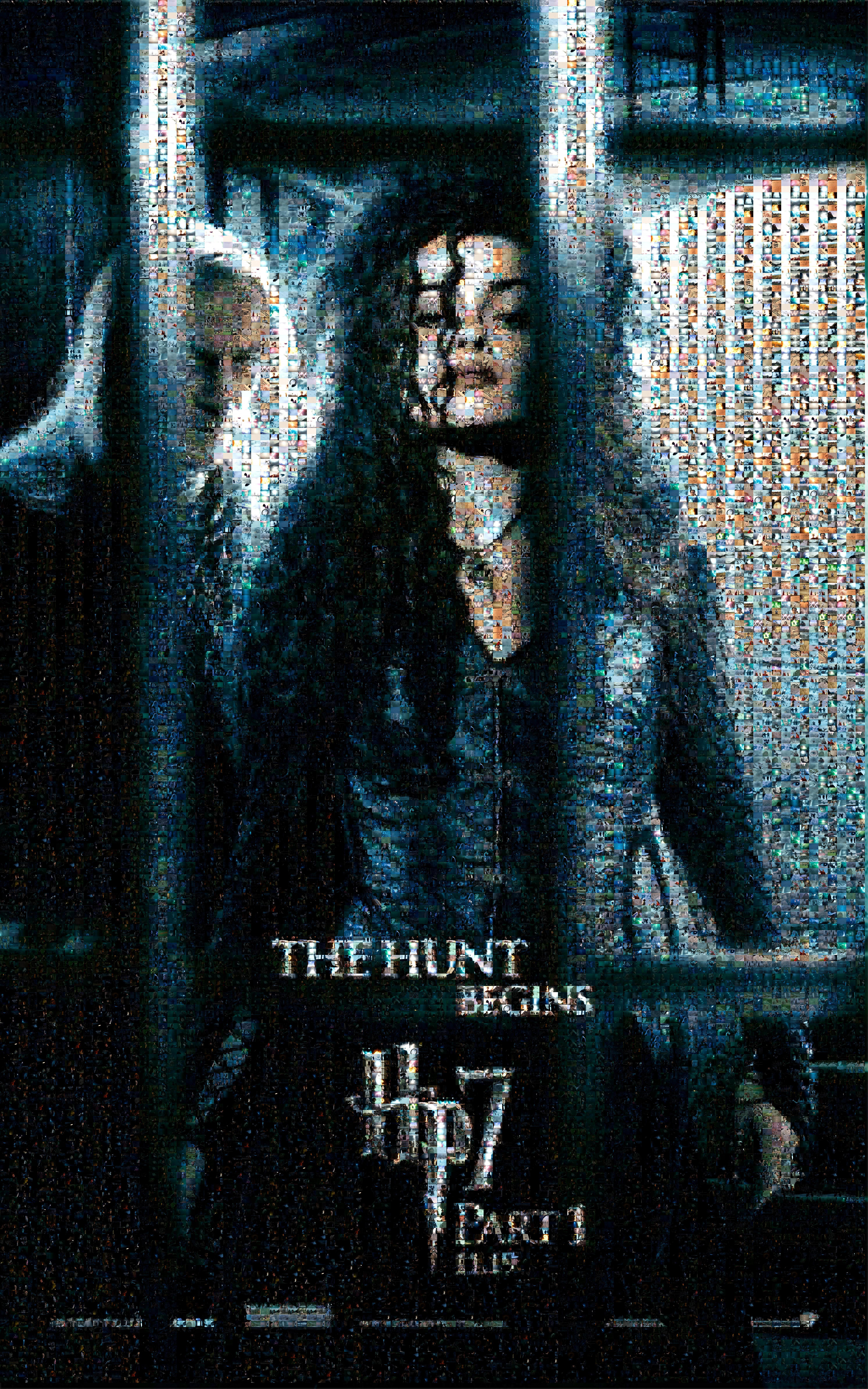 Deathy Hallows Bellatrix Mosai