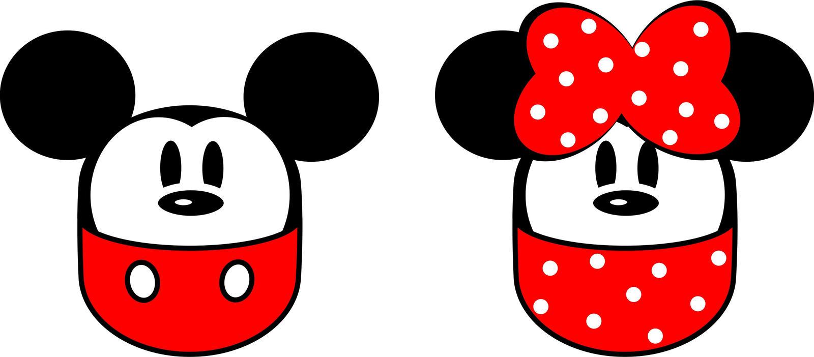 Gacha Mickey and Minnie