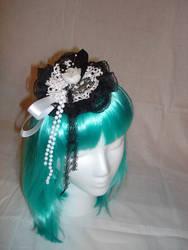 Sweet Gothic Lolita Lace Fasci by smallrinilady