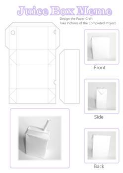 PaperCraft JuiceBox MemeBlank