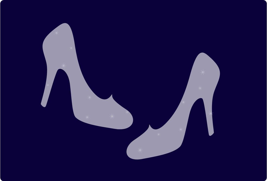 cinderella glass slippers by smallrinilady on deviantart