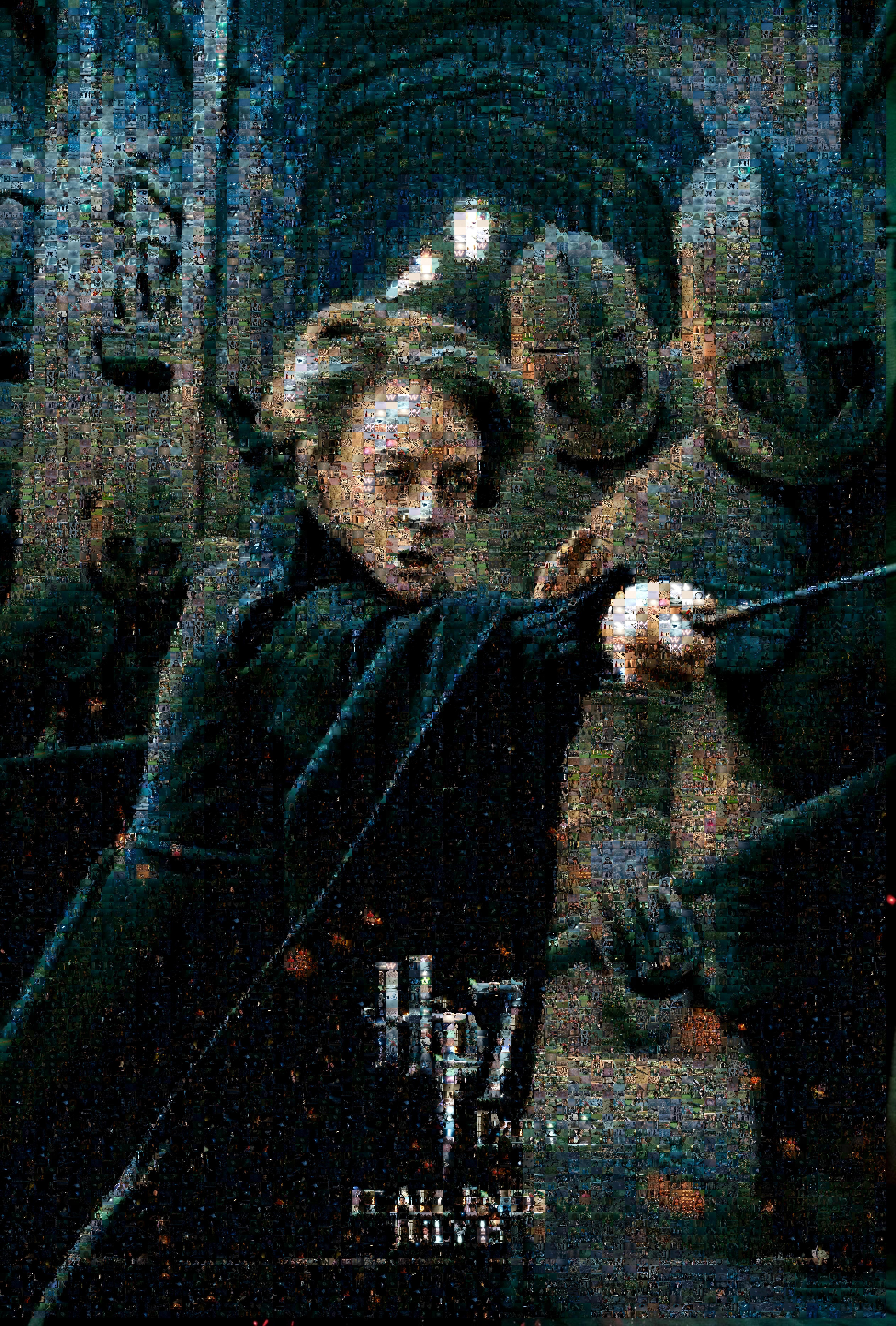 Movie7 Prof McGonagall mosaic