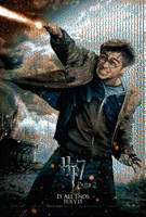 HP7 Harry Poster Mosaic III by smallrinilady