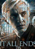 HP7 Draco Malfoy Poster Mosaic by smallrinilady