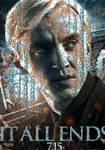 HP7 Draco Malfoy Poster Mosaic