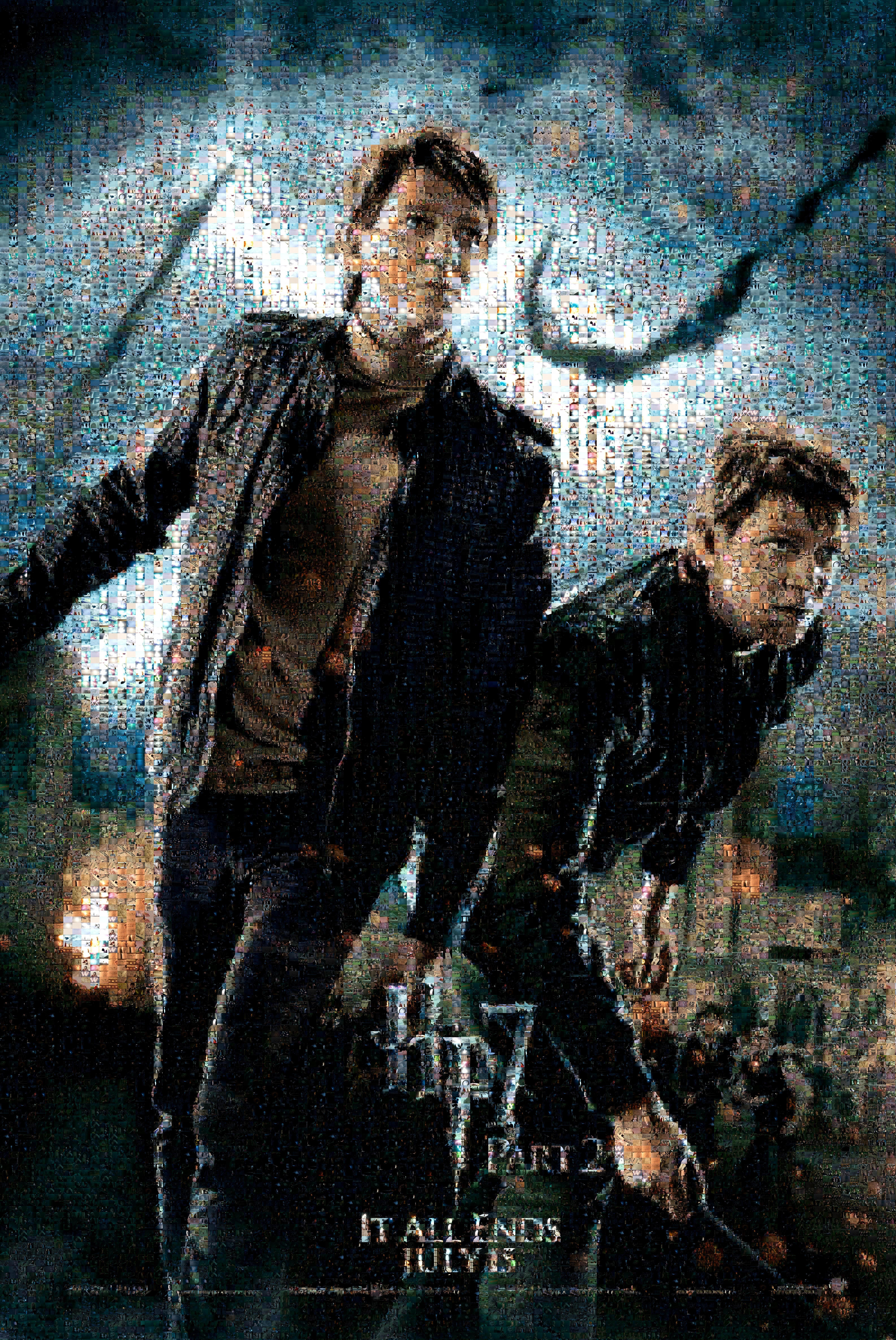HP7 Weasley Twins Mosaic Movie