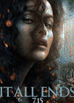 HP7 Bellatrix mosaic poster