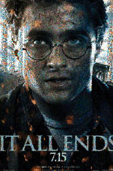 HP7 Harry Potter Poster Mosaic