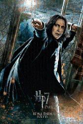 HP2 Snape II Poster MOsaic