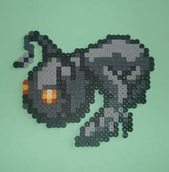 Heartless Shadow 8 Bit Pixel Art