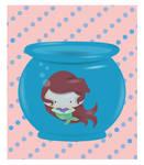 Disney Ariel in a Fish Bowl I