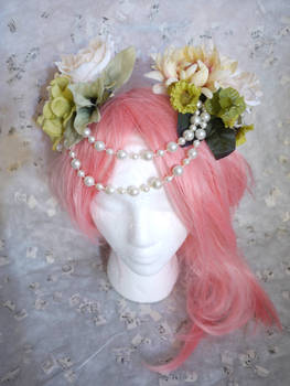 High Fantasy Flower Hair Accessory