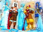 Cowslip Gijinka Pokemon Cosplayers at SakuraCon