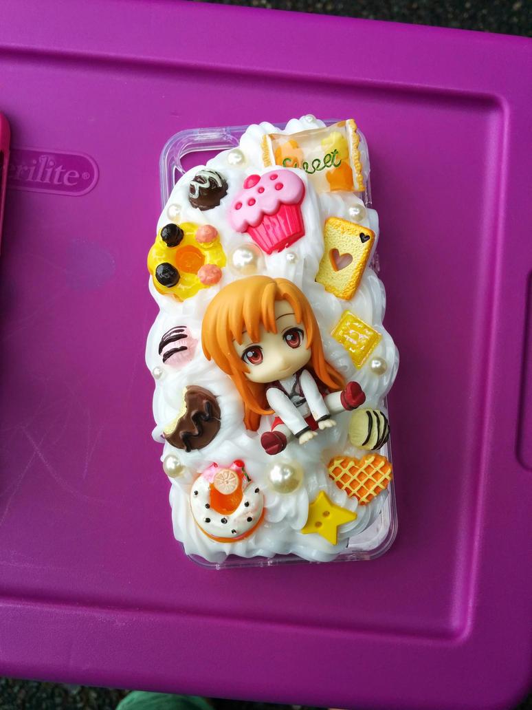 Sword Art Online Asuna the Cook Decoden iphone cas by smallrinilady