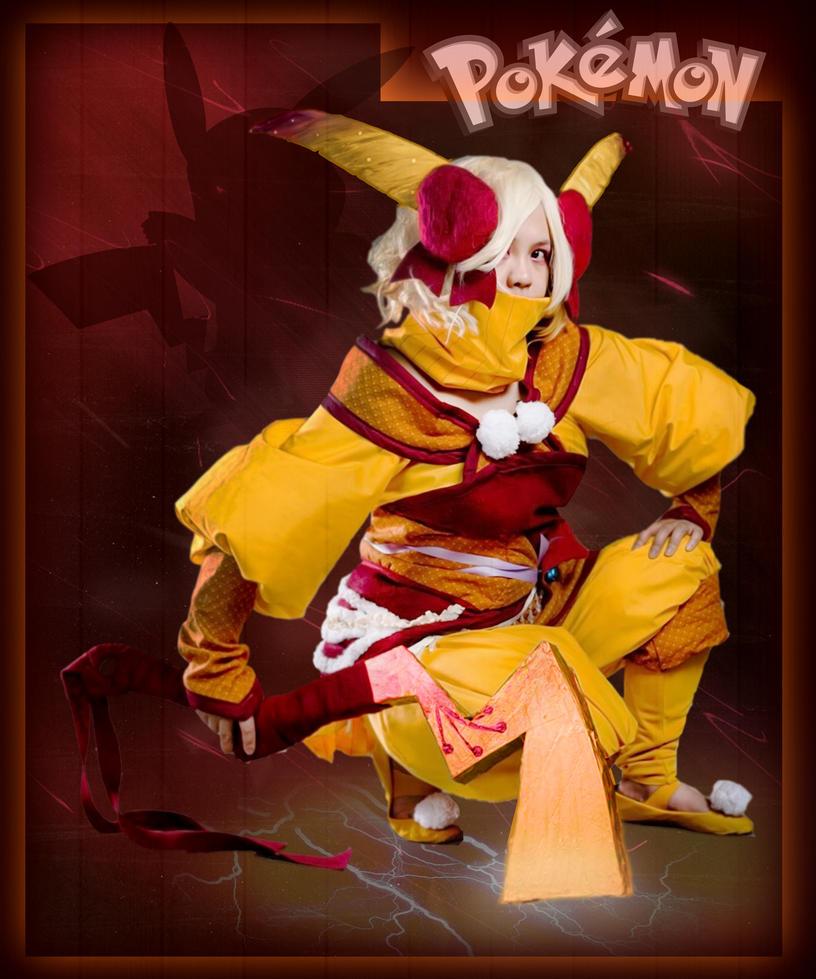 Pikachu Cosplay by smallrinilady