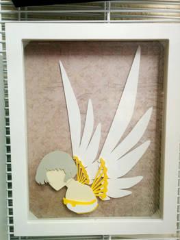 Clover PaperCut Paper Illustration Shadbowbox