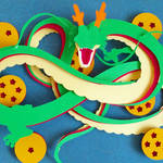 Dragon Ball Papercut