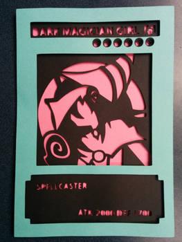 Dark Magician Girl Card Papercut