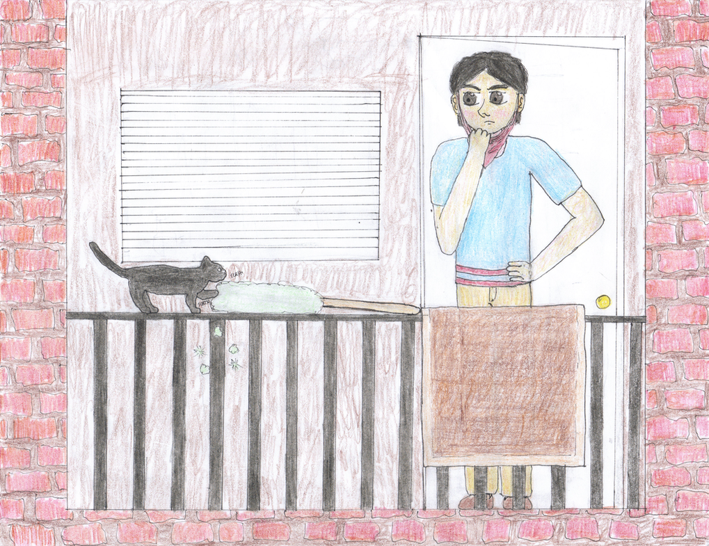 Black Cat by iamkathybrown