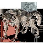 Halloween Werewolf Tag by TheEkko