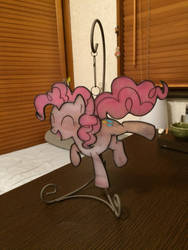 Stained Glass Pinkie Pie by mekab-hiro