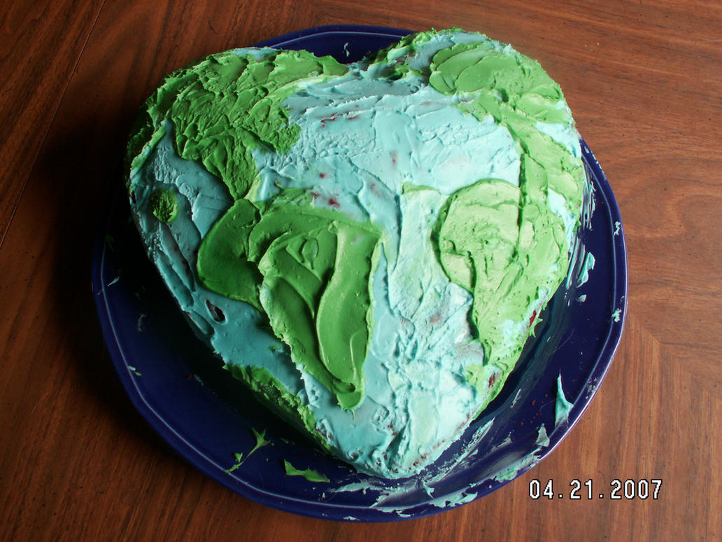 Earth Day Cake by JinYonMin