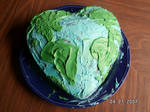 Earth Day Cake by JinYonMin