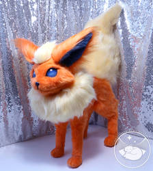 Flareon Poseable Art Doll by UmbraTundra