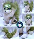 Wolf Link Poof Poseable Art Doll by UmbraTundra