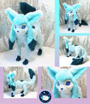 Glaceon Poseable Art Doll by UmbraTundra